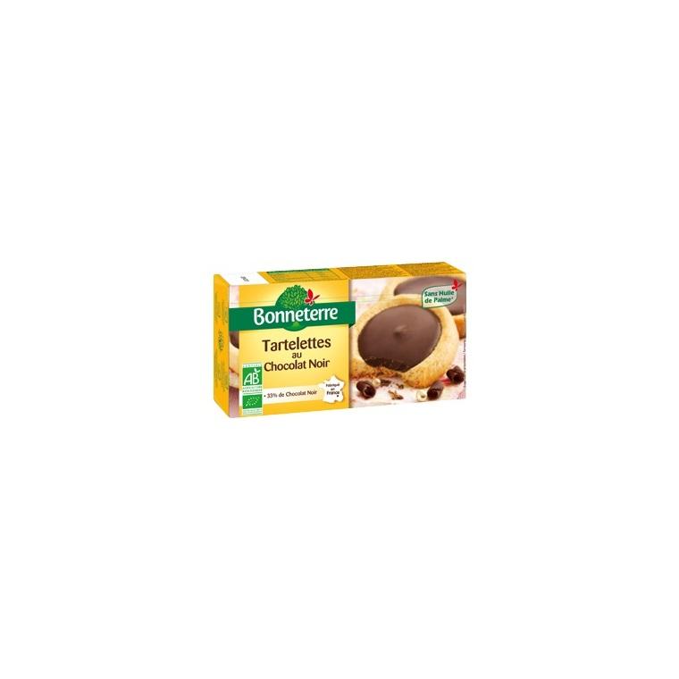 Tartelettes au chocolat noir 125 g BONNETERRE 100317