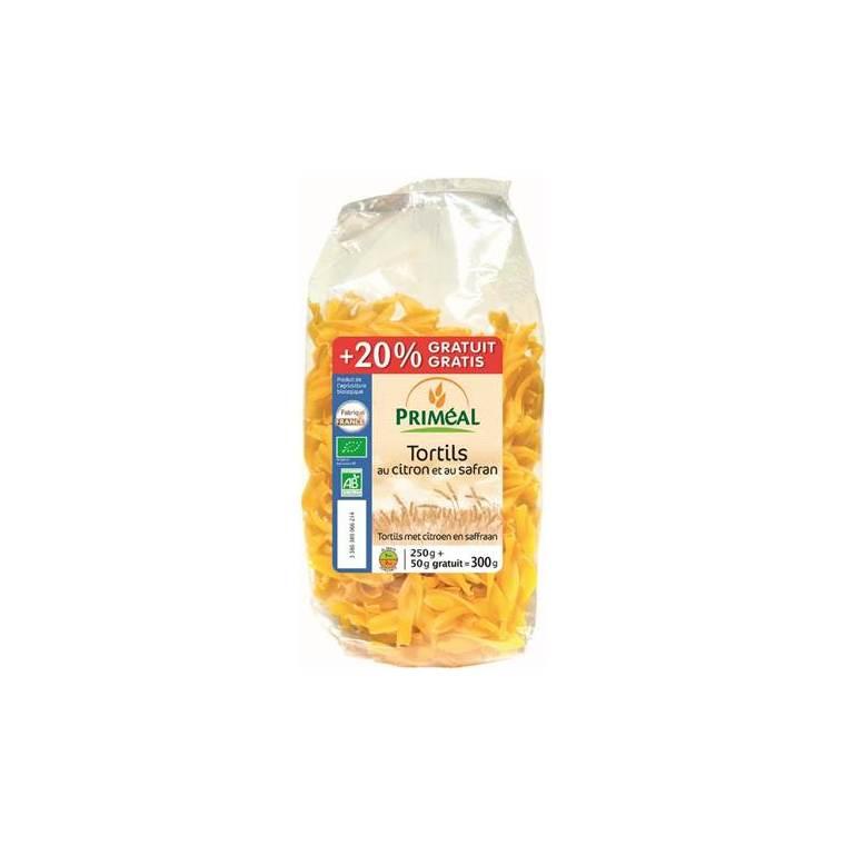 Tortils au citron safran - 250 gr