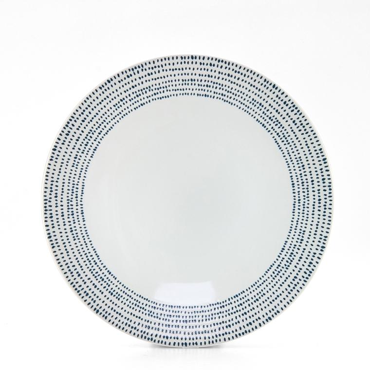 Assiette plate Christina grès Ø27 cm 100749