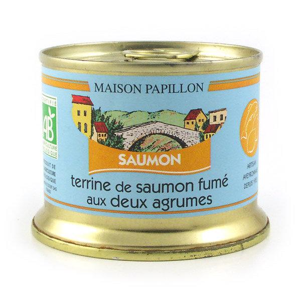 Terrine de saumon fumé aux 2 agrumes 101568