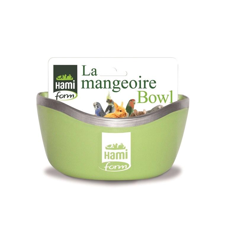 Mangeoire bowl verte