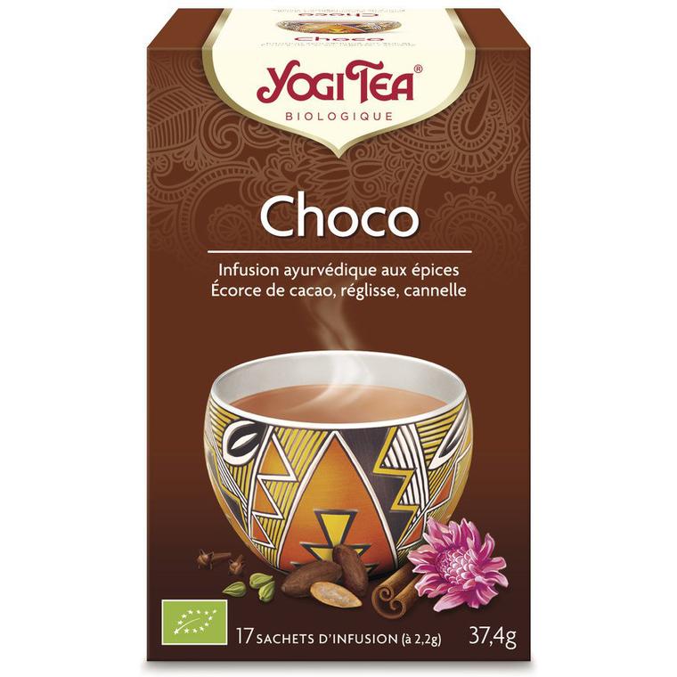 Yogi Tea Choco – La boîte de 17 sachets 103061