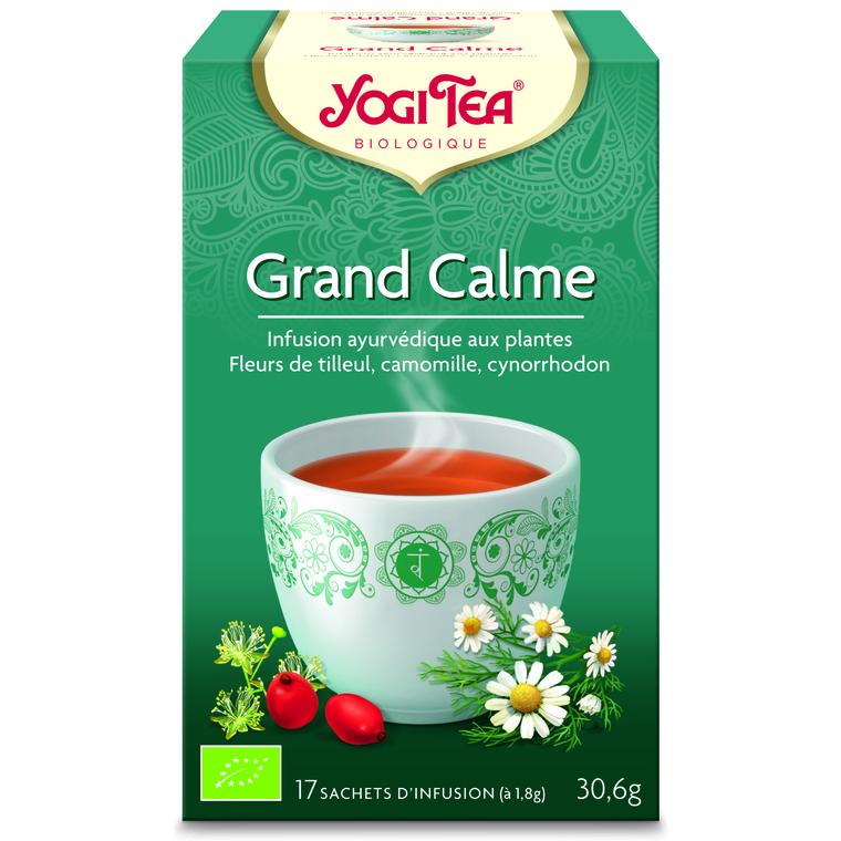 Yogi Tea Grand calme – La boîte de 17 sachets 103083