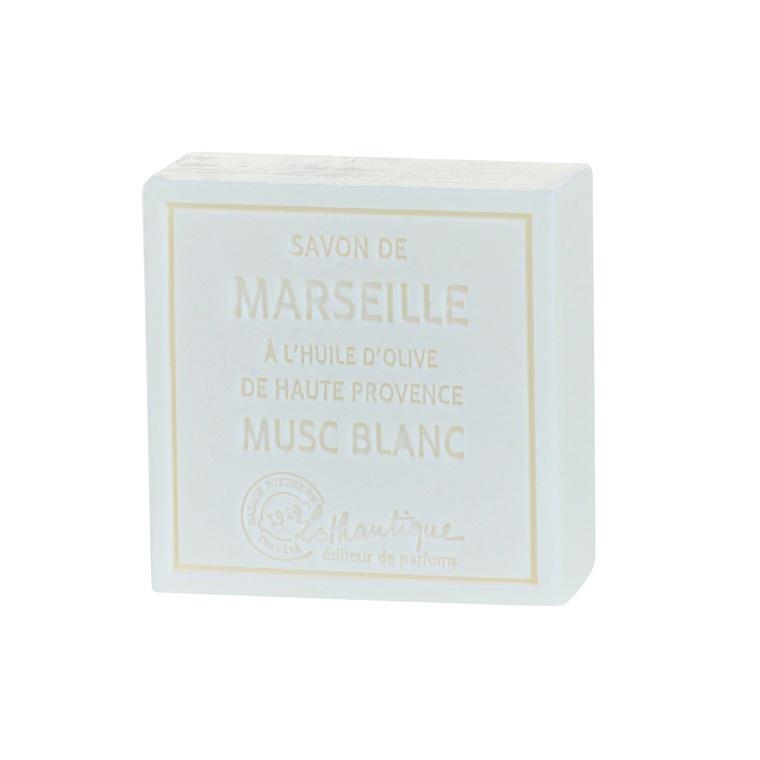 Savon de Marseille au Musc Blanc – 100 grammes 103753