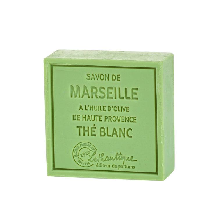 Savon de Marseille au Thé blanc – 100 grammes