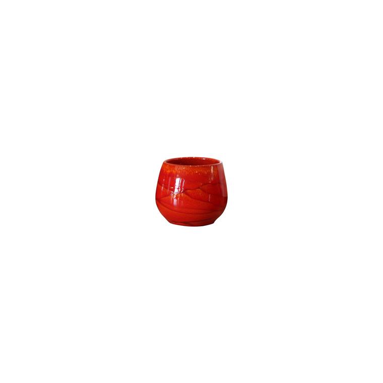 Pot Cancale soleil couchant en terre cuite émaillée H 21 x Ø 21 cm 103958
