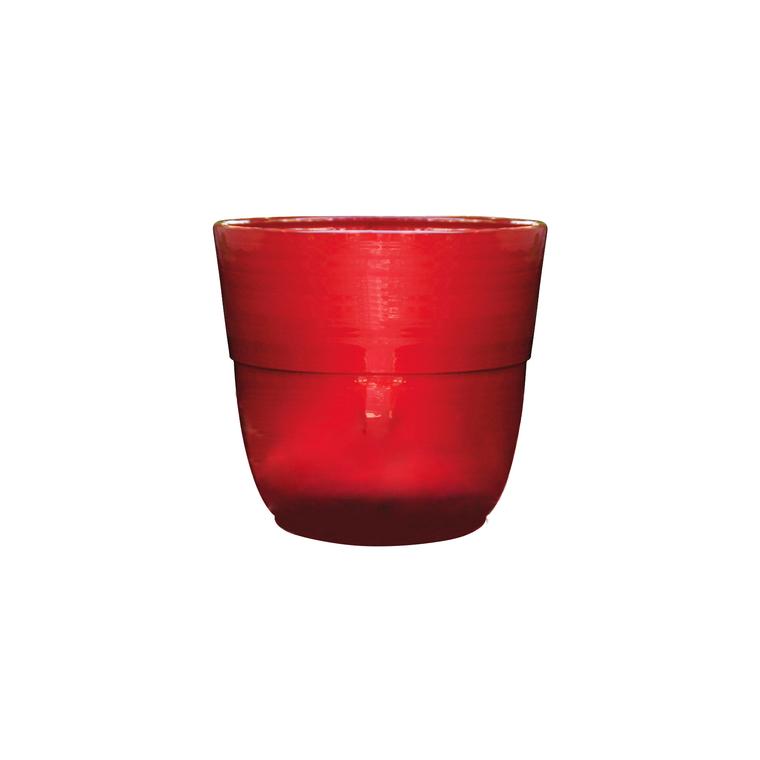 Vase Rebord coquelicot H 27 x Ø 30 cm 103977