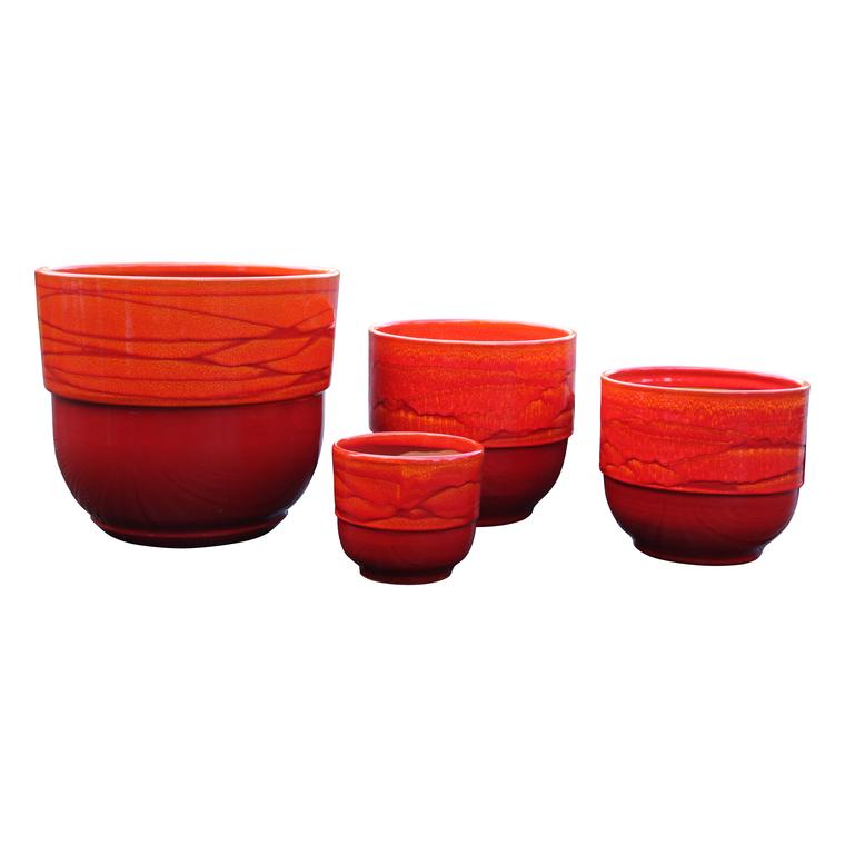 Vase Rebord soleil couchant H 27 x Ø 30 cm 103979