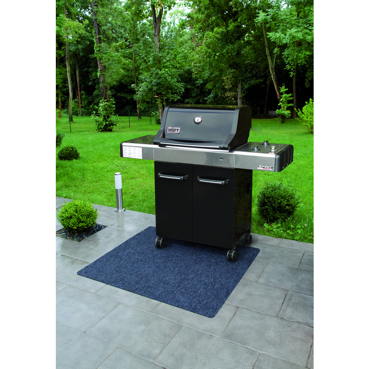 Tapis de protection pour Barbecue mat – 120x100 cm