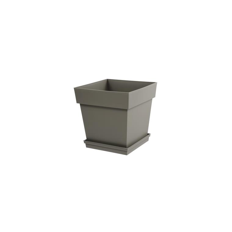 Pot Toscane Taupe L.39x39 x H.39 cm 104983