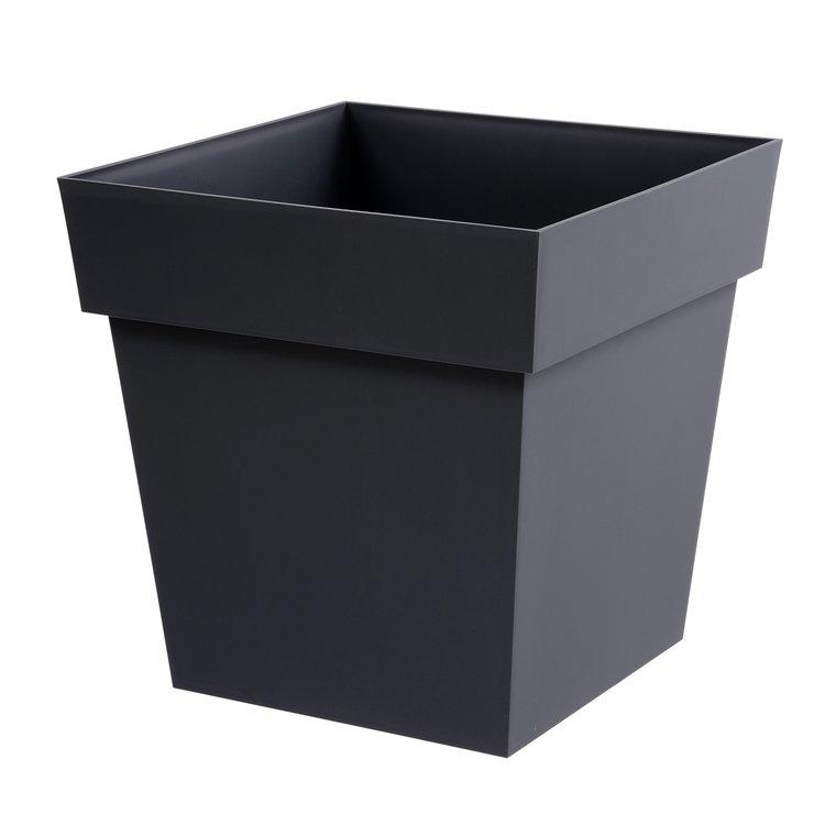 Pot TOSCANE Gris anthracite L.39x39 x H.39 cm 104984