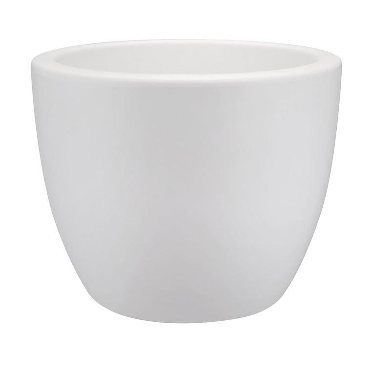 Pure soft round D30cm Blanc 105430