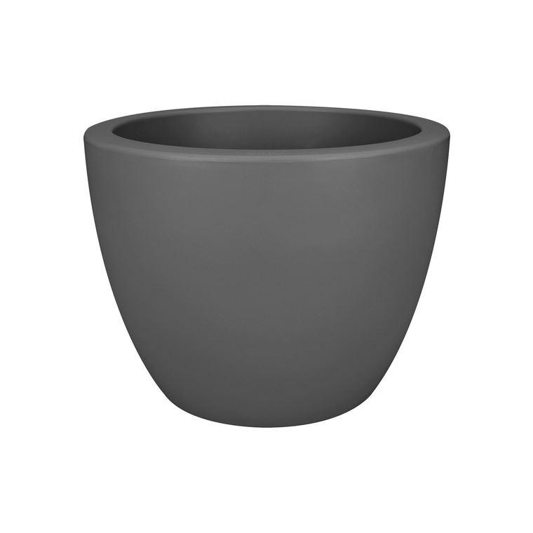 Pure soft round D30cm Anthracite 105431