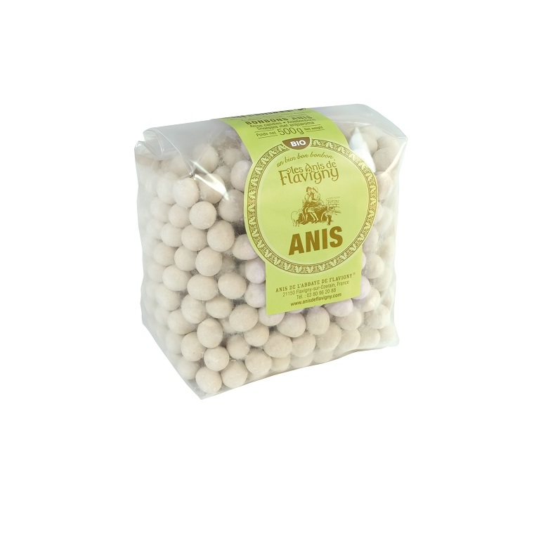 Bonbons à l'anis Bio - sachet 500 g
