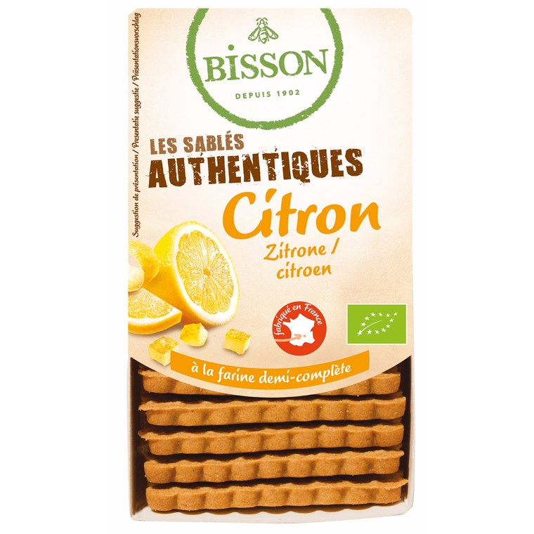 Biscuits sablés authentiques au citron - 183 gr 105868