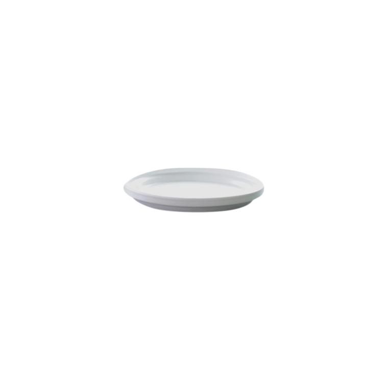 Soucoupe blanc mat – Ø 20 cm 106897
