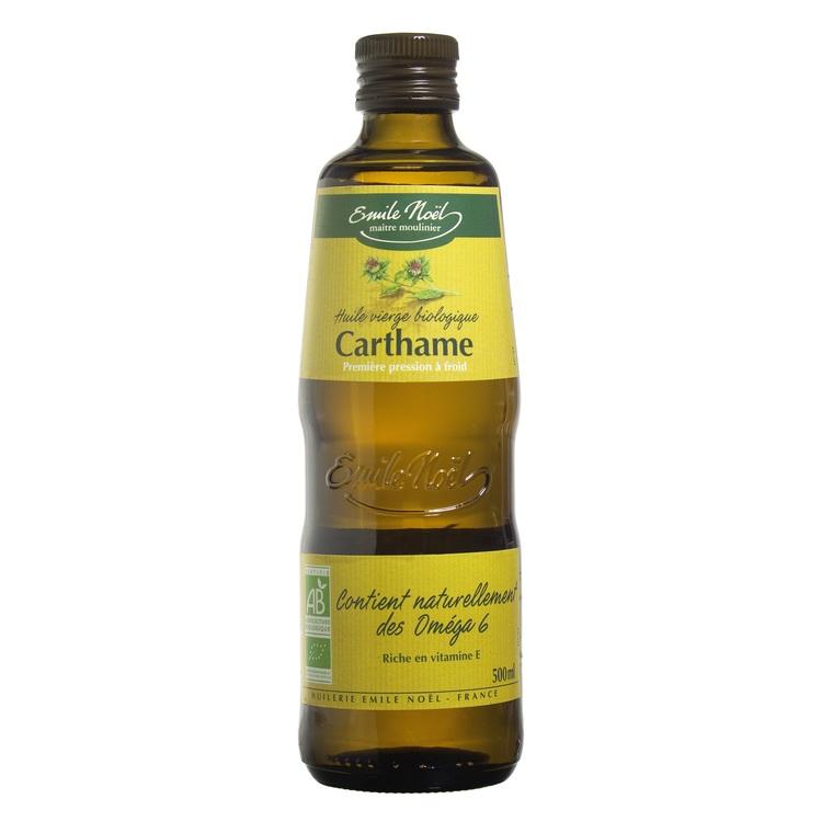 Huile vierge de carthame bio en bouteille de 500 ml 106915