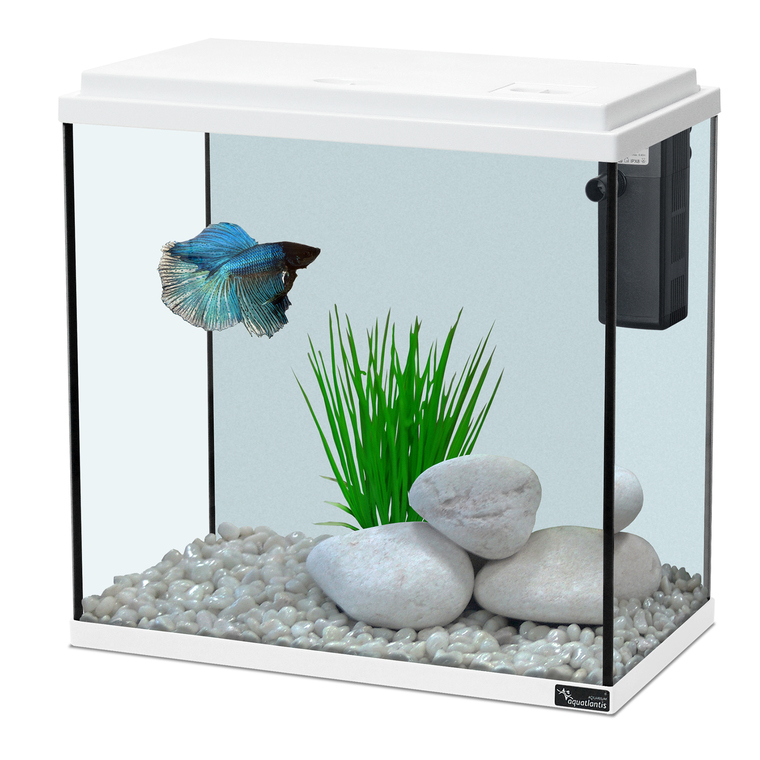 Aquarium kit 35 blanc 18L 107537