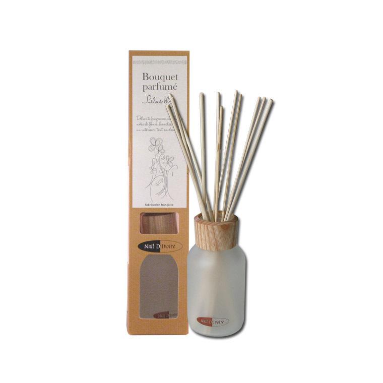 Diffuseur bouquet parfumé Lilas Blanc 100 ml