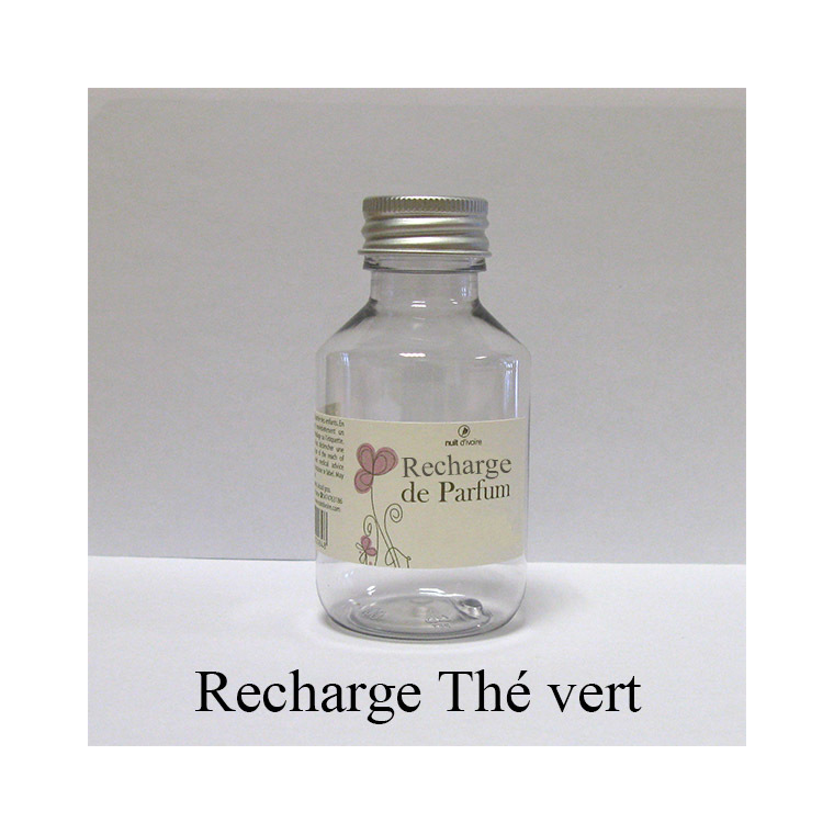 Recharge diffuseur de rotin Thé Vert 100 ml