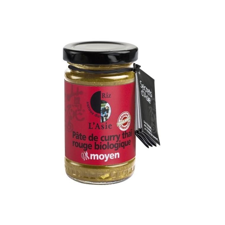Pate de curry rouge bio - 100 gr 108398