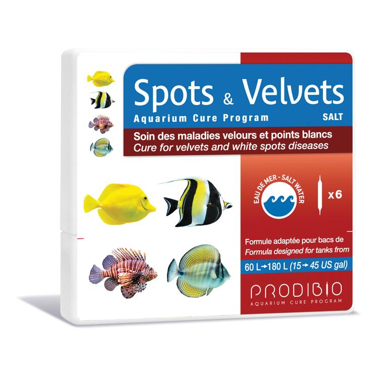 Traitement spots et velvets eau de mer en ampoules x 6 108834