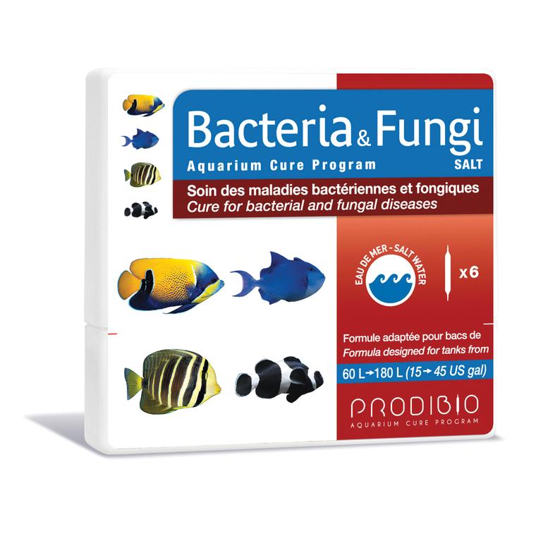 Traitement bacteria et fungi eau de mer en ampoules x 6 108836