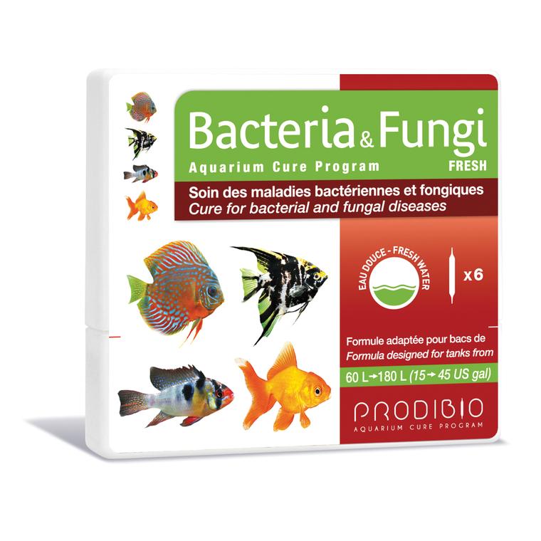 Traitement bacteria et fungi eau douce multicolore en ampoules x 6 108839