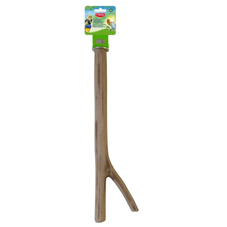 Perchoir branche en bois taille XL 35 cm 109193