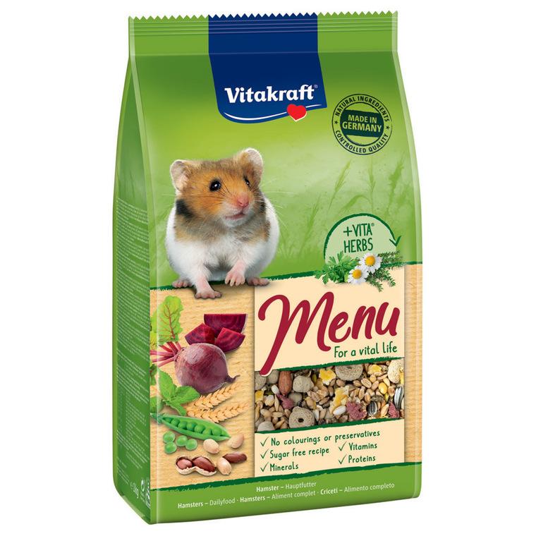 Menu Super Premium Hamster 800 Gr