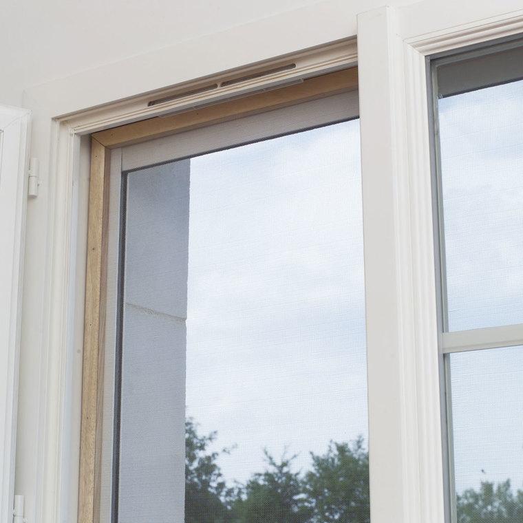 Moustiquaire Alunet Aluminium Gris L2,50 mx H100 cm 10984