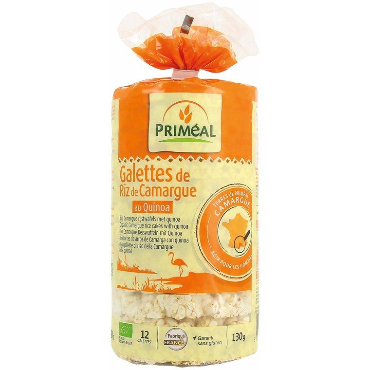 Galettes riz quinoa 130 g PRIMEAL 112980