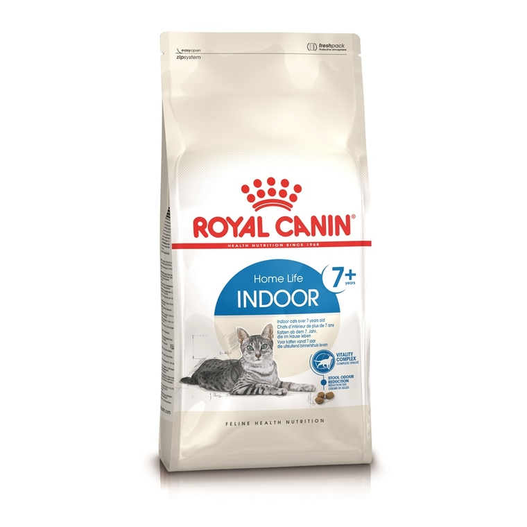Croquettes Royal Canin pour chat Indoor7+ 400 g 114412
