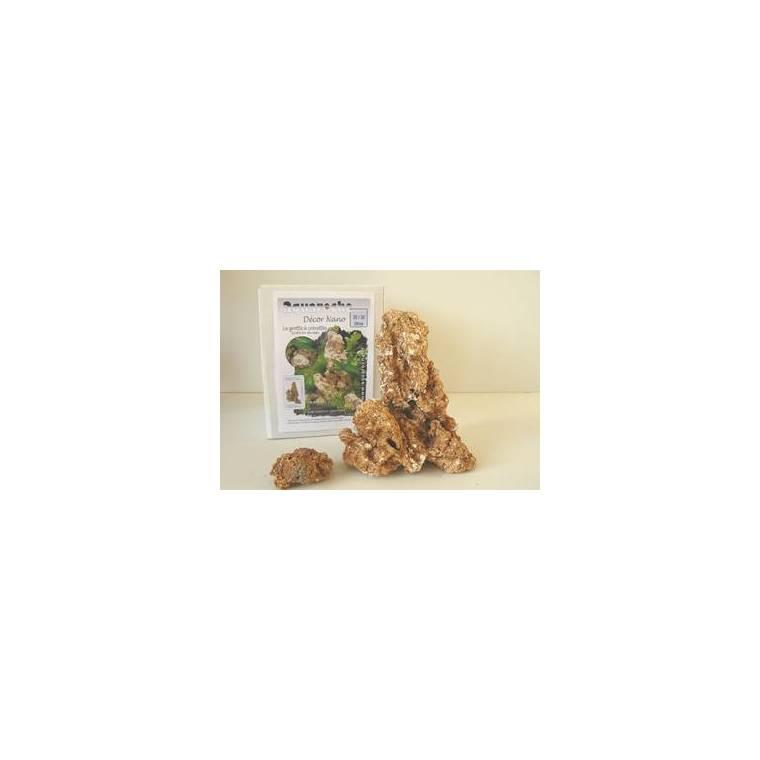 Grotte à  crevettes pour Nano Aquarium Céramique H 21 cm 114458