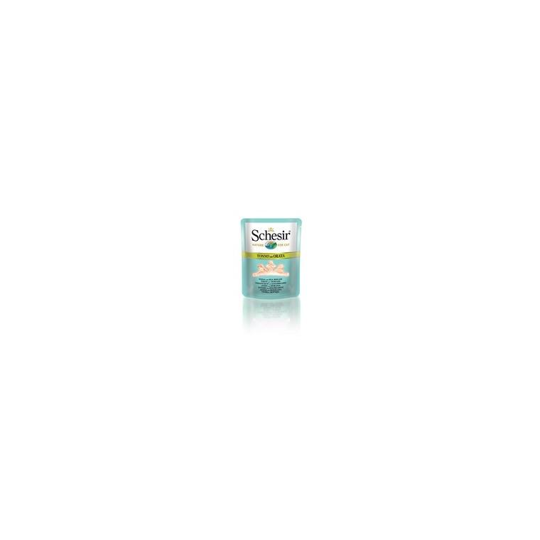 Sachet fraîcheur pour chat thon et daurade au bouillon - 70 g 114690