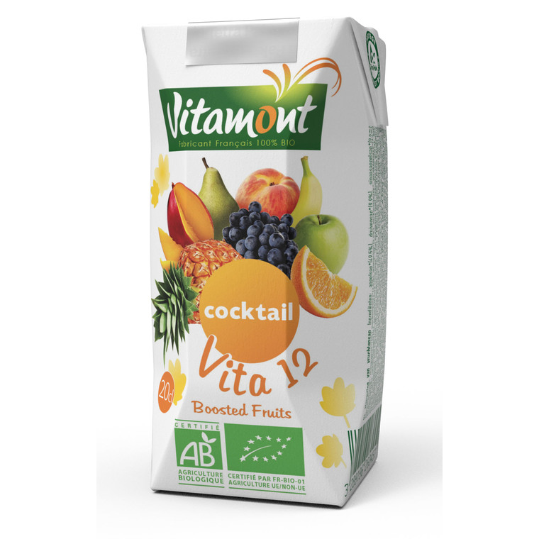 Jus multifruits Vita 12 6 x 20 cl 115316