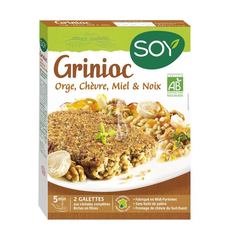 Grinioc orge chèvre miel noix Soy 2 x 100 g