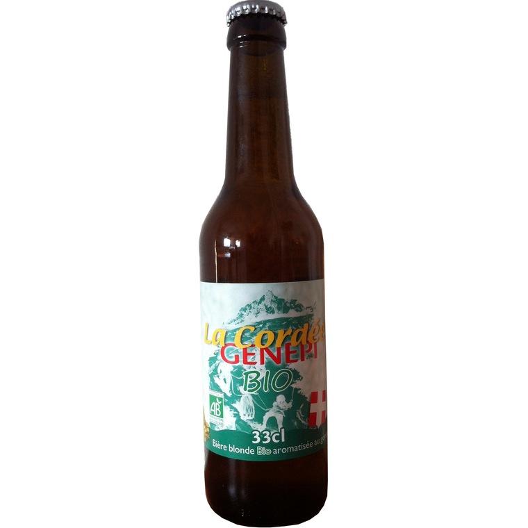 Bière blonde Cordée génépi 33 cl