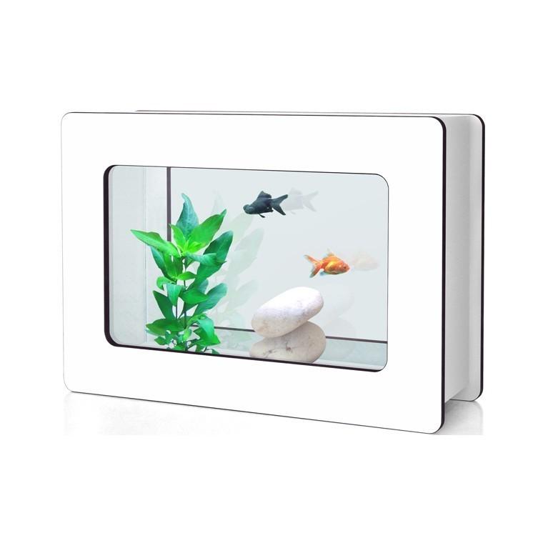 Aquarium Nano Fashion Vision H Dennerlé 13L blanc 118237