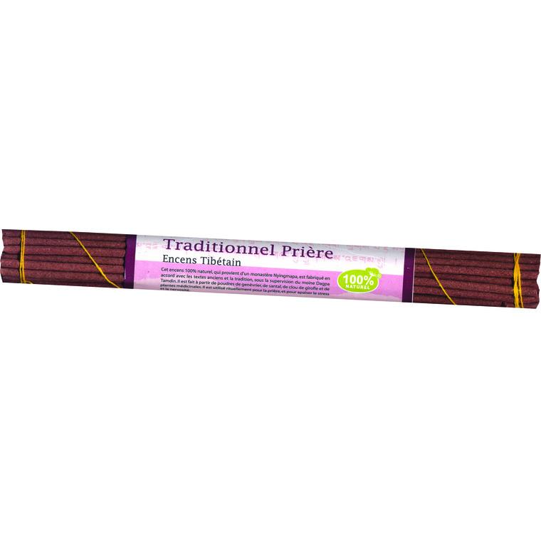 Encens Tibet tradition X35 bâtons Prière 118958