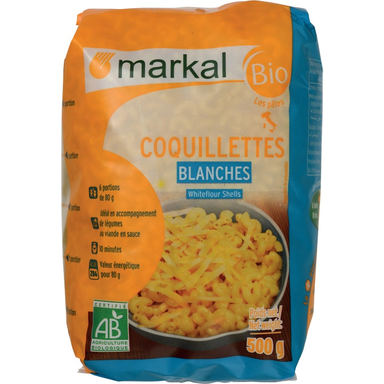 Coquillettes blanches - 500 gr 121058