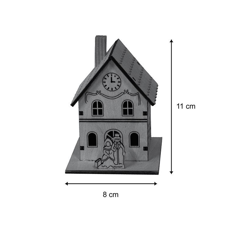 Mairie miniature en bois 122015