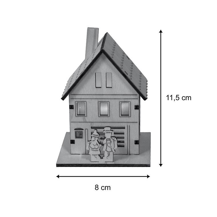 Ecole miniature en bois 122016