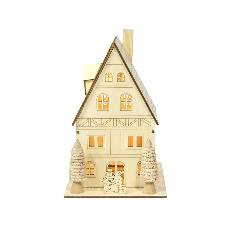 Maison miniature en bois grand modèle 122017