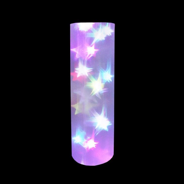 Cylindre holographique RGB à changement de couleur 48 cm 122059
