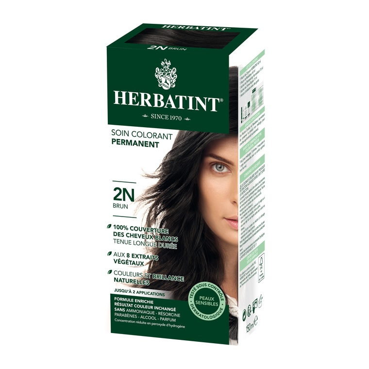 Coloration Herbatint Brun -  2N.145 ml 122834