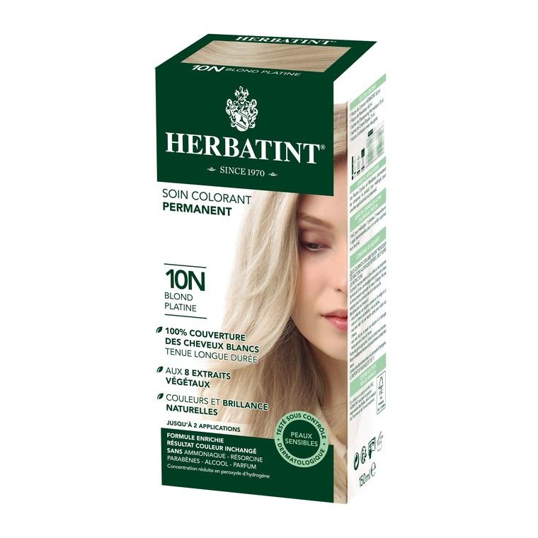 Coloration Herbatint Blond Platine - 10N.145 ml 122842