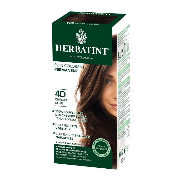 Herbatint Châtain doré - 4D.145 ml 122843