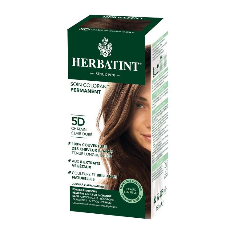 Herbatint Châtain Clair Doré - 5D.145 ml