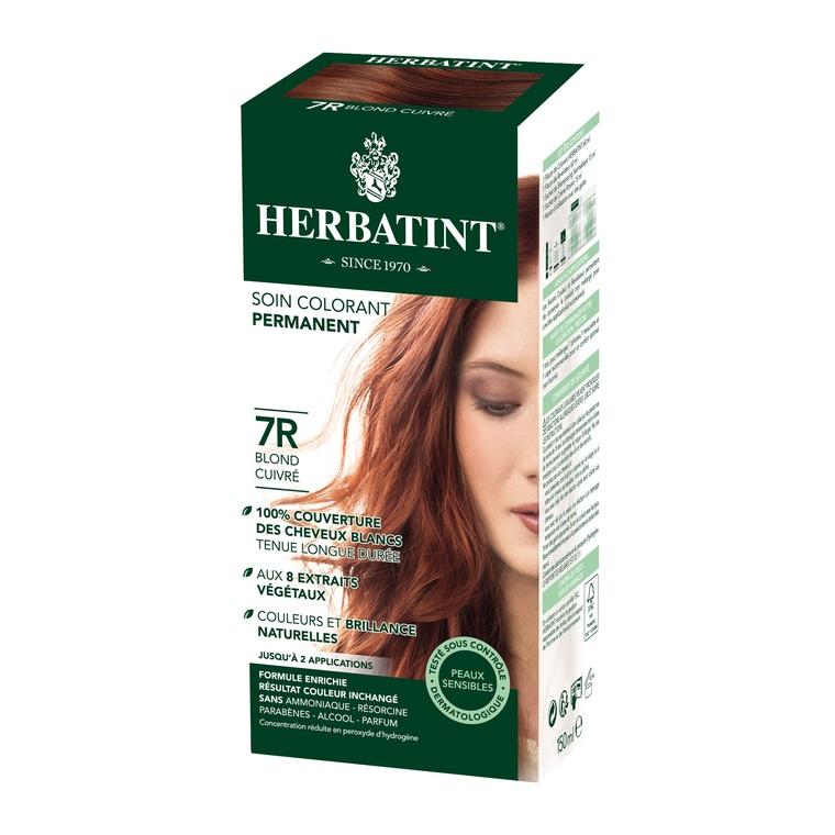 Herbatint Blond Cuivré - 7R.145 ml